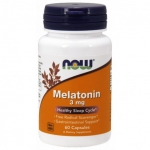 MELATONIN 3 MG NOW FOODS 60 KAPSUŁEK