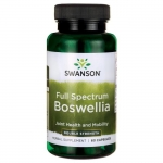 BOSWELLIA DOUBLE-STRENGTH FULL SPECTRUM 800mg 60 KAPSUŁEK SWANSON