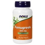 FENUGREEK (KOZIERADKA) 500MG 100 KAPSUŁEK NOW FOODS