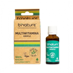 MULTIWITAMINA KROPLE 30ML B'NATURE