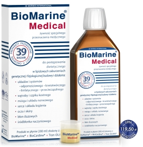 BIOMARINE MEDICAL-WSPOMAGANIE ORGANIZMU W WIELU CHOROBACH 200 ML Marinex International