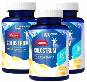 COLOSTRUM KOZIE 460MG 120 KAPS. HEPATICA