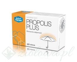 PROPOLIS PLUS 60 tabletek APIPOL