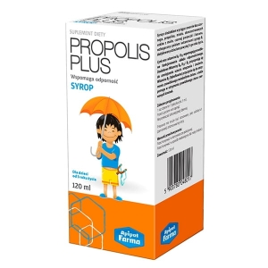 PROPOLIS PLUS 120ml SYROP APIPOL FARMA