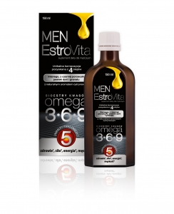ESTROVITA MEN (KWASY OMEGA-3,-6,-9) 150ML