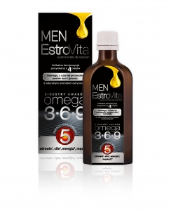 ESTROVITA MEN (KWASY OMEGA-3,-6,-9) 250ML