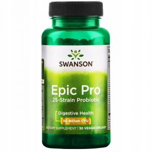 SWANSON EPIC PRO 25-STRAIN PROBIOTIC PROBIOTYK 30 billion CFU 30 kaps. DR SWANSON