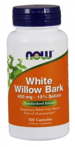 Now Willow Bark Extract 100 kapsułek