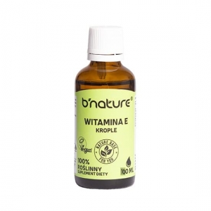Witamina E 100ml krople b'nature