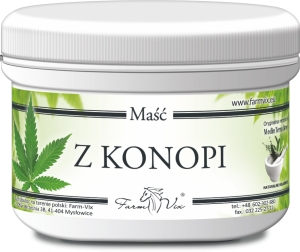 MAŚĆ Z KONOPI 150 ml FARM VIX