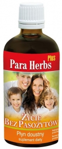 PARA HERBS PLUS NA PASOŻYTY, GRZYBY I BAKTERIE 100ml INVENT HERBS
