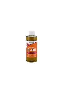 WITAMINA E NATURALNA MIX TOKOFEROLI E-OIL 118 ml NOW FOODS