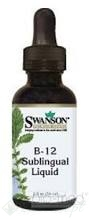 WITAMINA B-12 W PŁYNIE (B-12 SUBLINGUAL LIQUID) 59 ml SWANSON